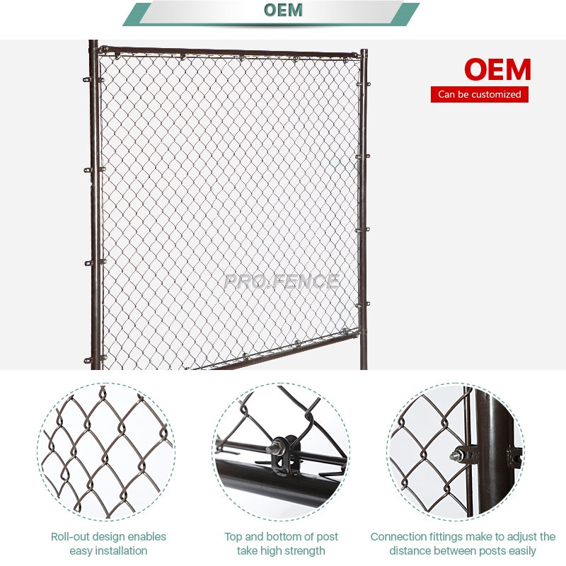 Chain link fence-1